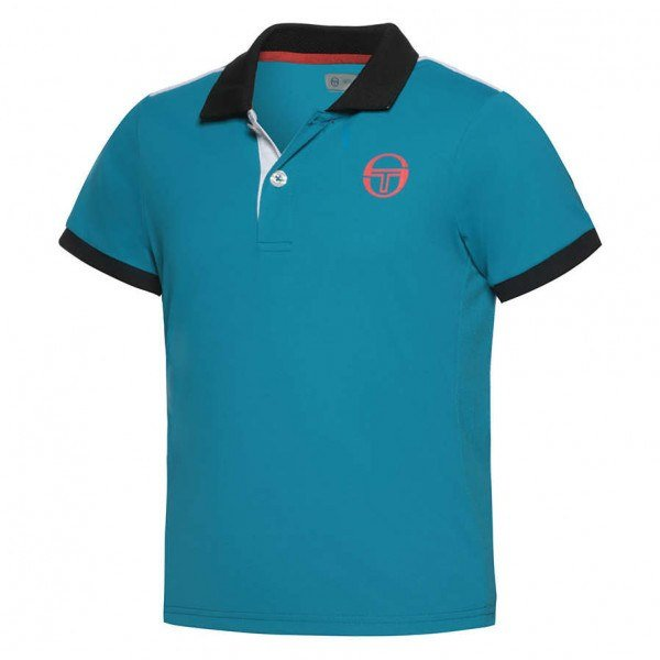 Sergio Tacchini Club Tech Polo Junior (Tommy Blue) - TWA
