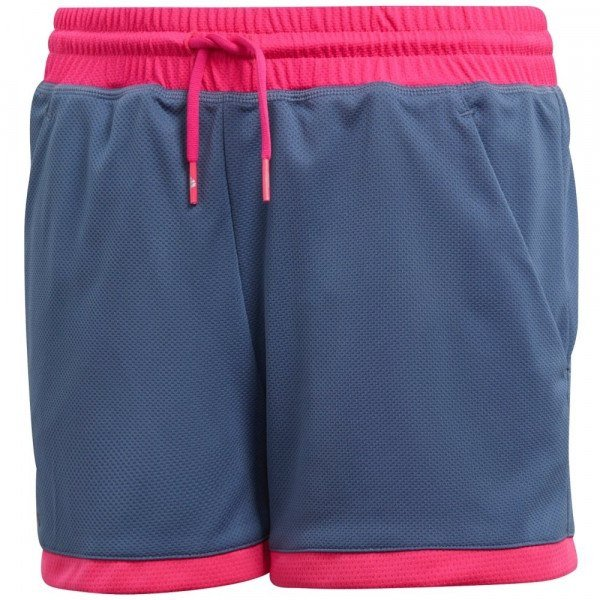 Adidas Girl's Club Short Tech Ink